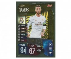 Fotbalová kartička 2019-2020 Topps Match Attax Champions League Limited Edition GOLD Sergio Ramos  LE2