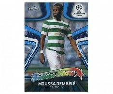 Fotbalová kartička Topps Chrome 2017-18 Champions League Future Stars FS-MD Moussa Dembele Celtic FC