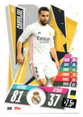 fotbalová kartička Topps Match Attax Champions League 2020-21 REA5 Dani Carvajal Real Madrid