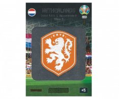 Panini Adrenalyn XL UEFA EURO 2020 Team Logo 226 Netherlands