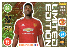 Panini Adrenalyn XL FIFA 365 2021 Limited Edition Paul Pogba Manchester United