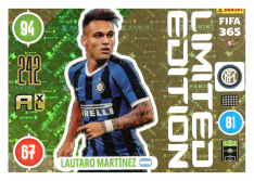 Panini Adrenalyn XL FIFA 365 2021 Limited Edition Lautaro Martinez Inter Milan