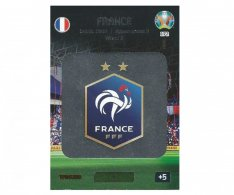 Panini Adrenalyn XL UEFA EURO 2020 Team Logo 172 France