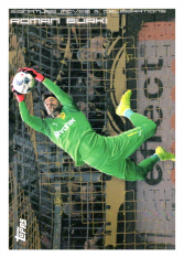 2020 Topps Borussia Dormund Signature Moves & Celebrations 26 Roman Bürki