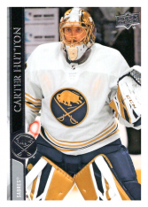 2020-21 UD Series One 22 Carter Hutton - Buffalo Sabres