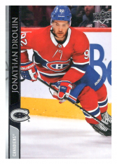 2020-21 UD Series One 96 Jonathan Drouin - Montreal Canadiens