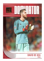 2018-19 Panini Donruss Soccer Dominator D-14 David de Gea - Spain