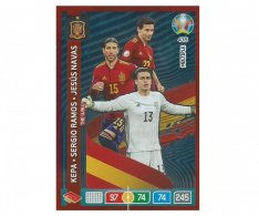 Panini Adrenalyn XL UEFA EURO 2020 Multiple The Wall 435 Kepa Ramos Navas Spain