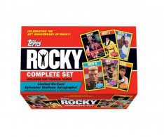 Topps Rocky 40th Aniversary Box (330 karetní set)