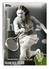 2019 Topps Tennis Hall of Fame 44 Francoise Durr