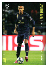 2020 Topps LM Youth On The Rise Eder Militao Real Madrid CF