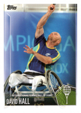 2019 Topps Tennis Hall of Fame 5 David Hall