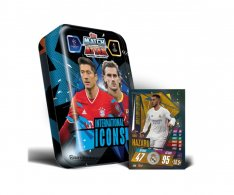 Topps Match Attax Champions League 2020-21 International Icons Velká plechovka