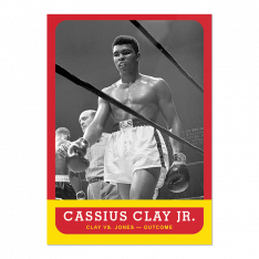 Sběratelská Kartička 2021 Topps MUHAMMAD ALI - The People's Champ 6. Cassius Clay Jr.
