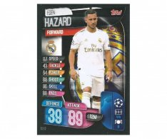 Fotbalová kartička 2019-2020  Topps Champions League Match Attax - Real Madrid CF -  Eden Hazard 12