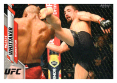 2020 Topps UFC 40 Robert Whittaker - Middleweight
