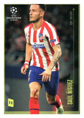 2020 Topps LM Top Talent Saul Niguez Atletico de Madrid