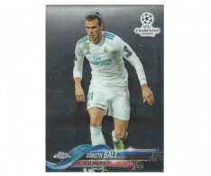 Fotbalová kartička Topps Chrome 2017-18 Champions League 75 Gareth Bale – Real Madrid CF