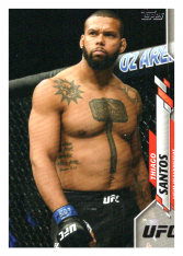 2020 Topps UFC 11 Thiago Santos - Light Heavyweight