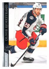 2020-21 UD Series One 52 Oliver Bjorkstrand - Columbus Blue Jackets
