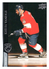 2020-21 UD Series One 81 Keith Yandle - Florida Panthers