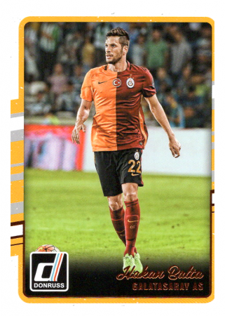 2016-17 Panini Donruss Soccer 94 Hakan Balta - Galatasaray AS