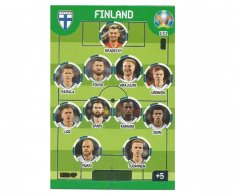 Panini Adrenalyn XL UEFA EURO 2020 Line Up 171 Finland