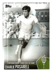 2019 Topps Tennis Hall of Fame 45 Charlie Pasarell