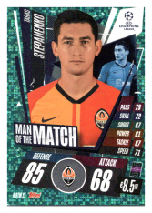 fotbalová kartička 2020-21 Topps Match Attax Champions League Extra Man of the Match MOTM21 Taras Stepanenko FC Shakhtar Donetsk