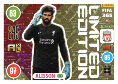 Panini Adrenalyn XL FIFA 365 2021 Limited Edition Alisson FC Liverpool