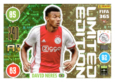 Panini Adrenalyn XL FIFA 365 2021 Limited Edition David Neres Ajax