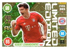 Panini Adrenalyn XL FIFA 365 2021 Limited Edition Robert Lewandowski FC Bayern Munchen