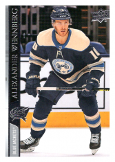 2020-21 UD Series One 56 Alexander Wennberg - Columbus Blue Jackets