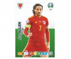 Panini Adrenalyn XL UEFA EURO 2020 Team mate 379 Joe Allen Wales