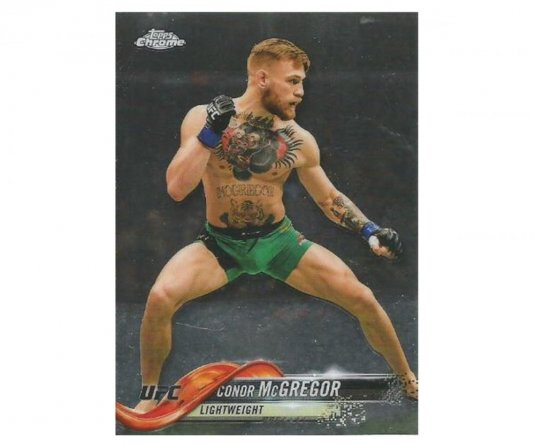 2018 Topps UFC Chrome 100 Conor McGregor