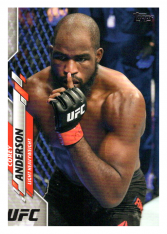 2020 Topps UFC 58 Corey Anderson - Light Heavyweight