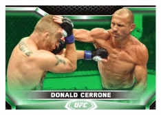 2020 Topps UFC Knockout 92 Donald Cerrone - Lightweight /88