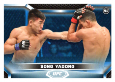 2020 Topps UFC Knockout 54 Song Yadong RC - Featherweight /75