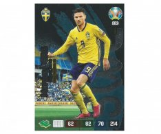 Panini Adrenalyn XL UEFA EURO 2020 Fans Favourite 330 Marcus Berg Sweden