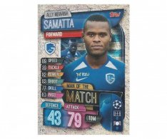 Fotbalová kartička 2019-2020 Topps Match Attax Champions League Man of the Match  Ally Mowana Samatta Genk