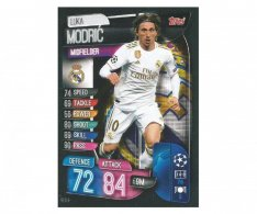 Fotbalová kartička 2019-2020  Topps Champions League Match Attax - Real Madrid CF -  Luka Modric 9