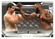 2020 Topps UFC Knockout 11 Maurice Greene - Heavyweight