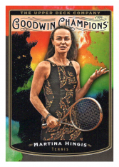 2019 Upper Deck Goodwin Champions 105 Martina Hingis SP