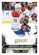 2020-21 UD MVP 147 Brendan Gallagher - Montreal Canadiens