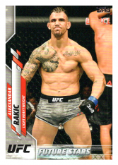 2020 Topps UFC 78 Aleksandar Rakic - Light Heavyweight FS