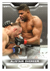 2020 Topps UFC Knockout 30 Alistair Overeem - Heavyweight