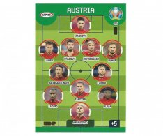 Panini Adrenalyn XL UEFA EURO 2020 Line Up 45 Austria