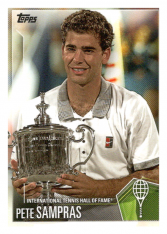 2019 Topps Tennis Hall of Fame 15 Pete Sampras