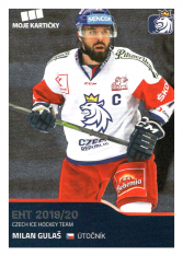 2019-20 Czech Ice Hockey Team  7 Milan Guláš