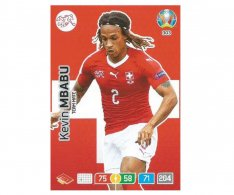 Panini Adrenalyn XL UEFA EURO 2020 Team mate 303 Kevin Mbabu Switzerland